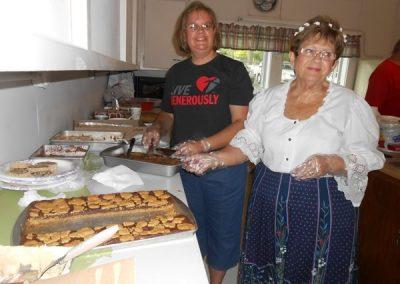 Zion Church Oktoberfest Preparations