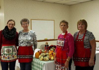 Zion Church ladies