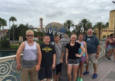 Zion Youth Universal Studios
