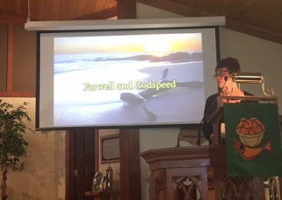 Pastor Bob's Retirement Service